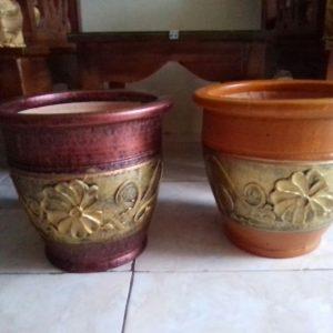 Dijual Pot Tanaman Hias Cantik Diameter 25 cm